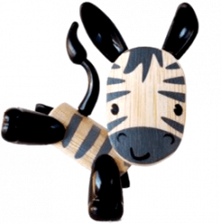 Zebra at Hape Toys