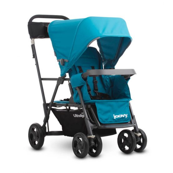 Caboose Ultralight Graphite Stand-On Tandem Stroller