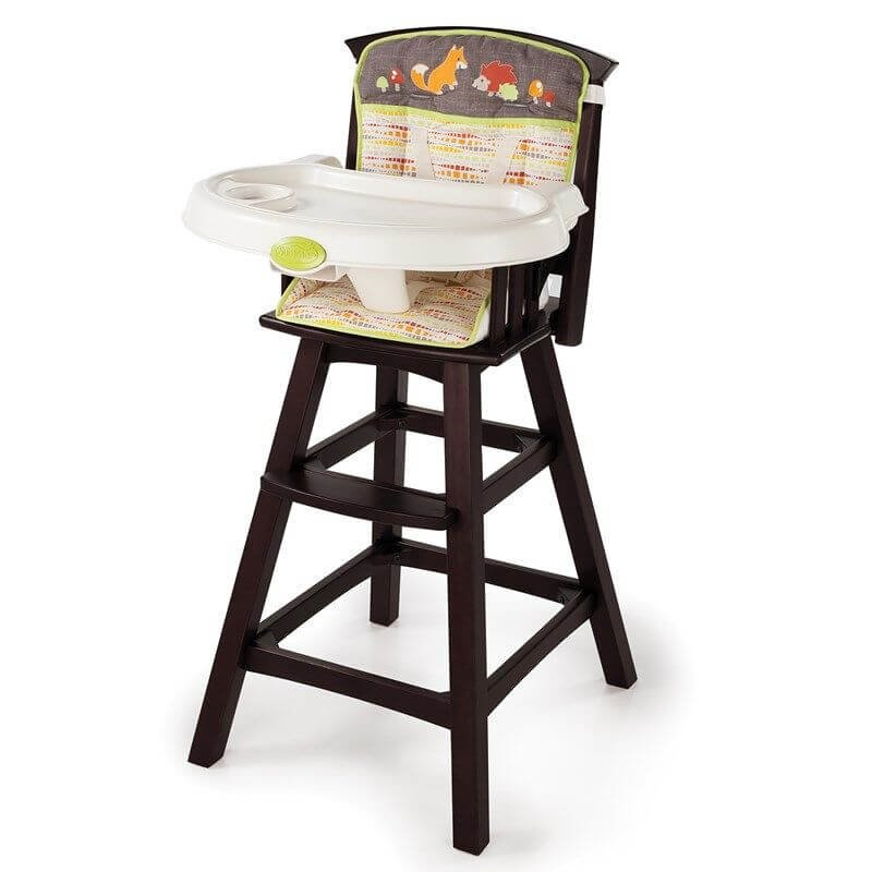 Wood Highchair – Fox & Friends