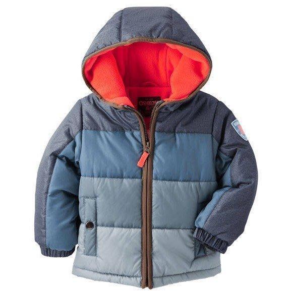 Oorbuster oshkosh colorblock heavyweight jacket