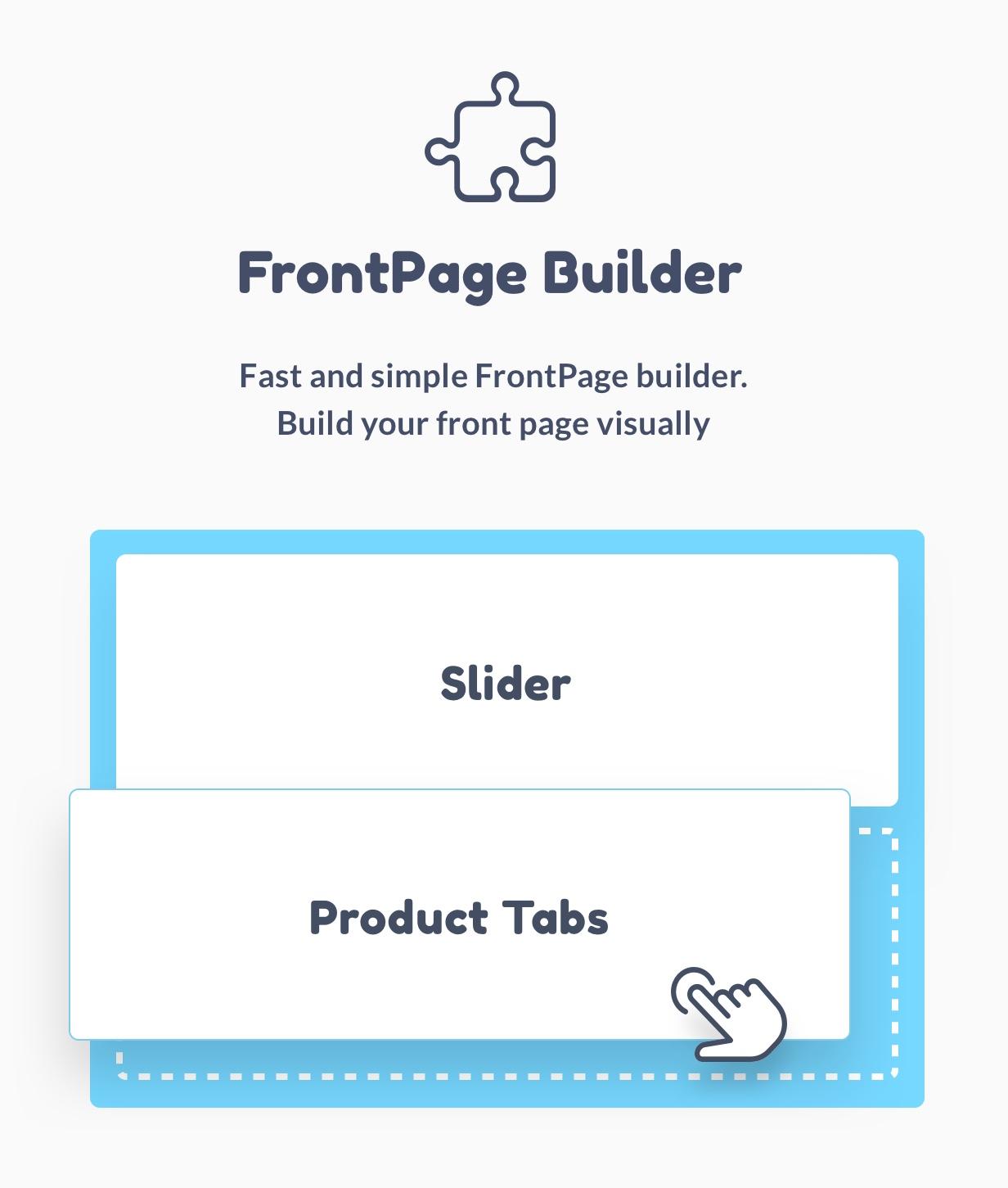 FrontPage builder