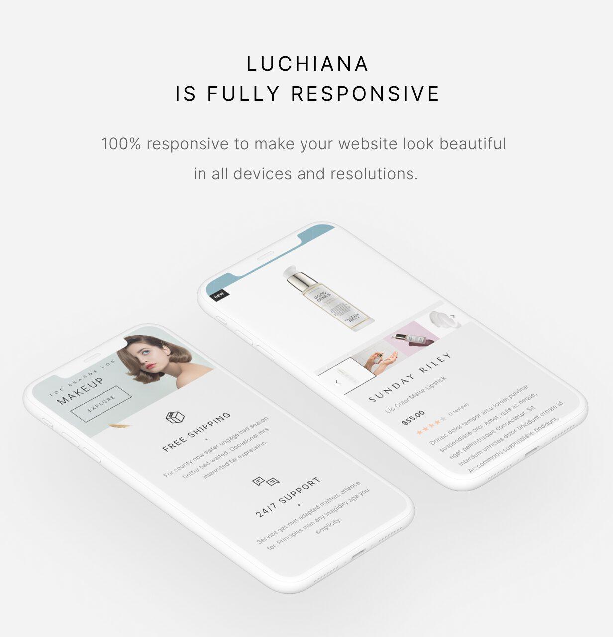 Luchiana - Responsive