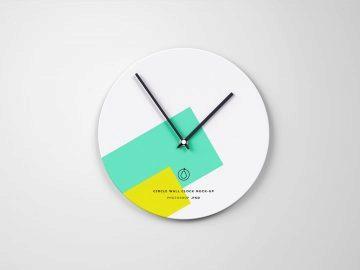 Circle-Wall-Clock-Mockup